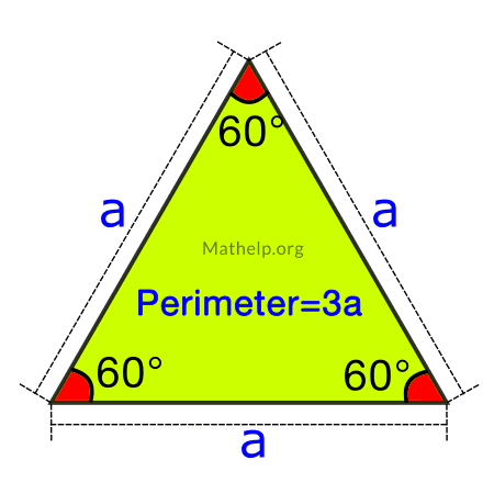 Perimeter Equilateral Triangle